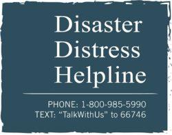 disaster distress helpline logo