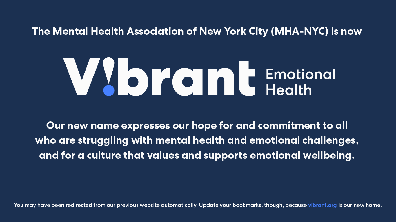 Vibrant Emotional Health Vibrant Emotional Health